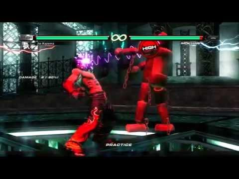 Tekken 6 Jin S Devil Face Item Move Youtube