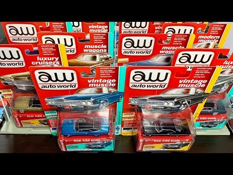 Lamley Unboxing/Preview: Auto World 1/64 Premium 2019 Release 1