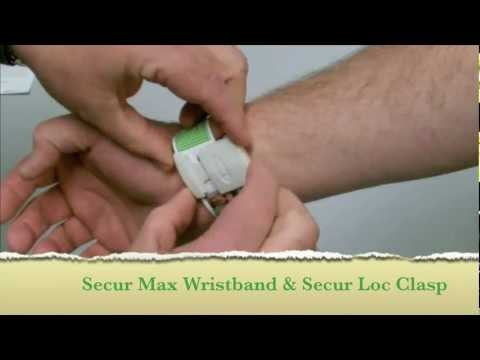 Endur ID Prison Inmate And Hospital Patient Secur Max Wrist ID Band