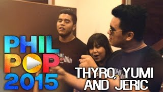 Triangulo - Thyro Alfaro, Yumi Lacsamana and Jeric Medina (Official Lyric Video Philpop 2015)