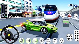 3D Driving Class #9 - Gas Station Funny Driver New Sport Car - Android GamePlay
