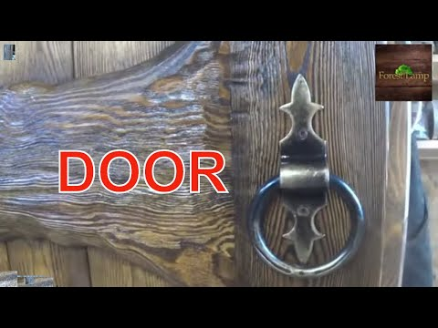Двери под старину своими руками