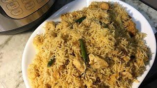 Instant Pot - How To Make Shan Sindhi Biryani