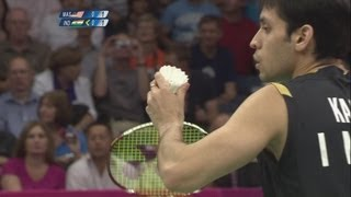 Chong Wei Lee Wins Badminton Singles Quarterfinals - London 2012 Olympics