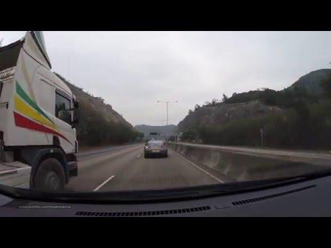 Hong Kong Car Ride @ Highway