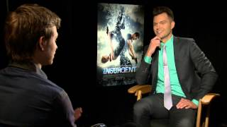 Ansel Elgort gives AJ Gibson the low down on that epic run from