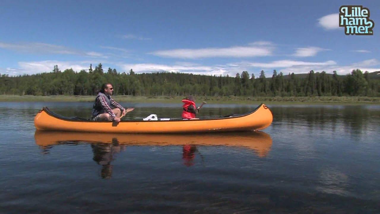 hvordan padle kano
