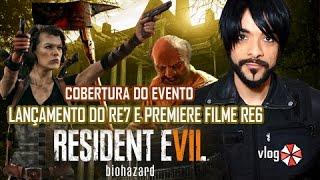 cobertura lançamento Resident Evil 7 e Pré RE 6