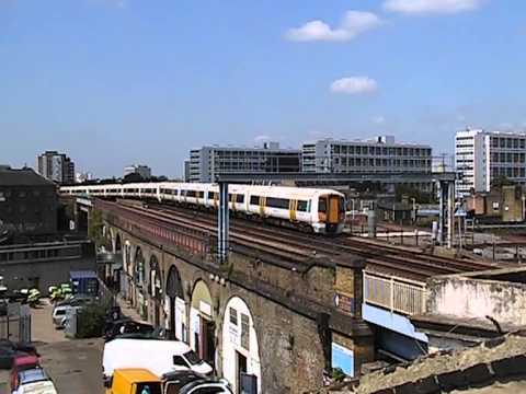 Trains on the South London Line: six sunny days at Cambria Junction