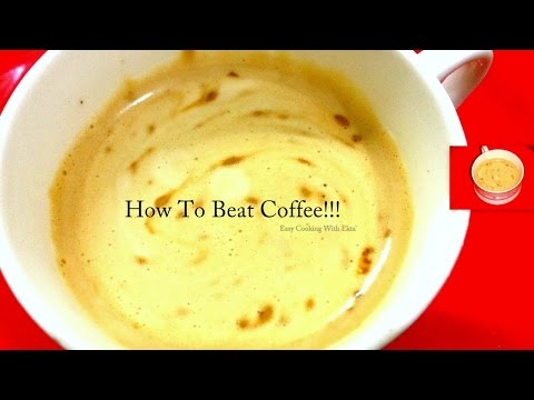 How to Make Nescafe Coffee with Milk -Hindi Video!