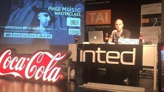 Masterclass INTED: técnicas de producción con UNER by COCA COLA MUSIC