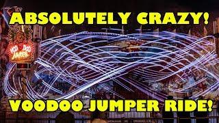 Voodoo Jumper CRAZY Oktoberfest Ride Munich Germany - More INSANE than Roller Coasters!