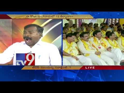 What are Challenges before TDP ? - News Watch - TV9
