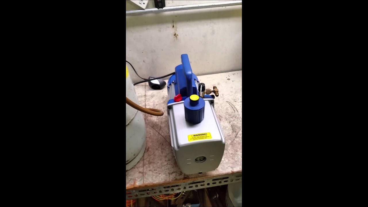 Vacuum pump race between a JB and a HFS