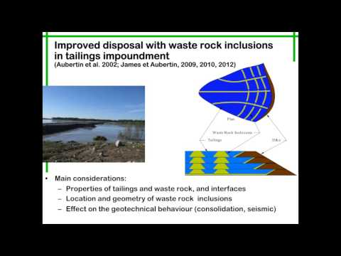 Dr. Michel Aubertin: Mine Wastes Management @RIME Part 2