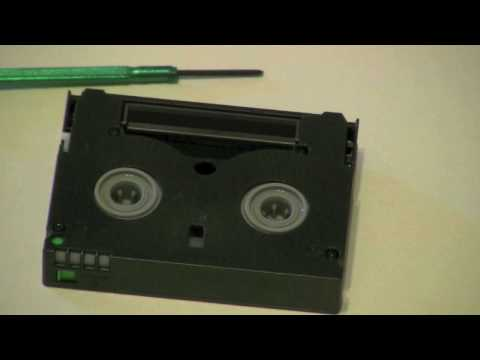 How to repair a MiniDV Tape (Part 1)
