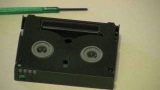 видео Оцифровка miniDV, запись minidv в dvd, кассеты DV to AVI