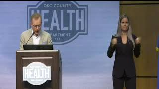 Mayor Holt and health officiasl provide COVID-19 Update