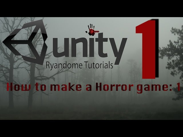 How to make a Horror Game Unity 3D