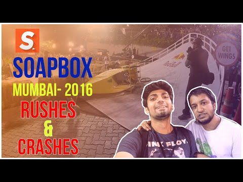 Top Moments of Red Bull SoapBox Race India 2016