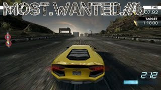 Need For Speed Most Wanted Playthrough #6 Lamborghini & Tesla