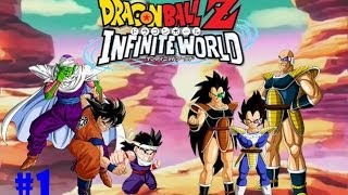 DRAGON BALL Z INFINITE WORLD GAMEPLAY PART 1