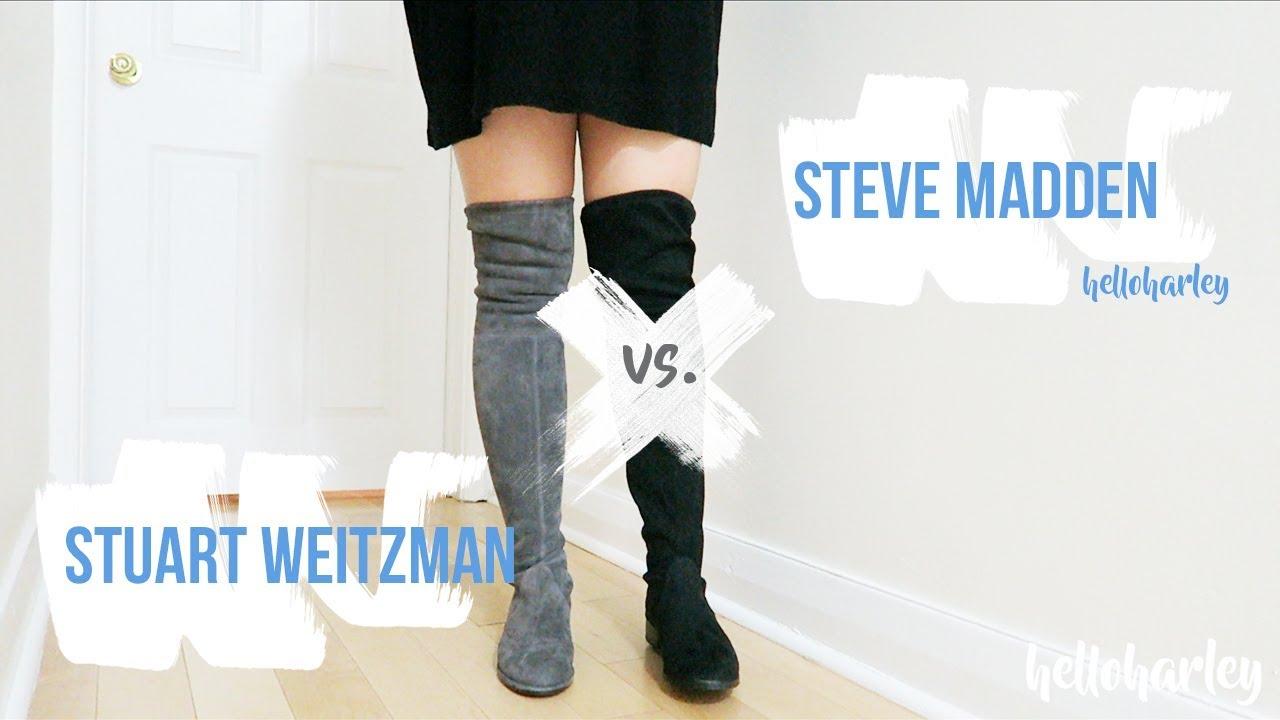 SPLURGE OR SAVE? STEVE MADDEN ORLENE VS STUART WEITZMAN LOWLAND