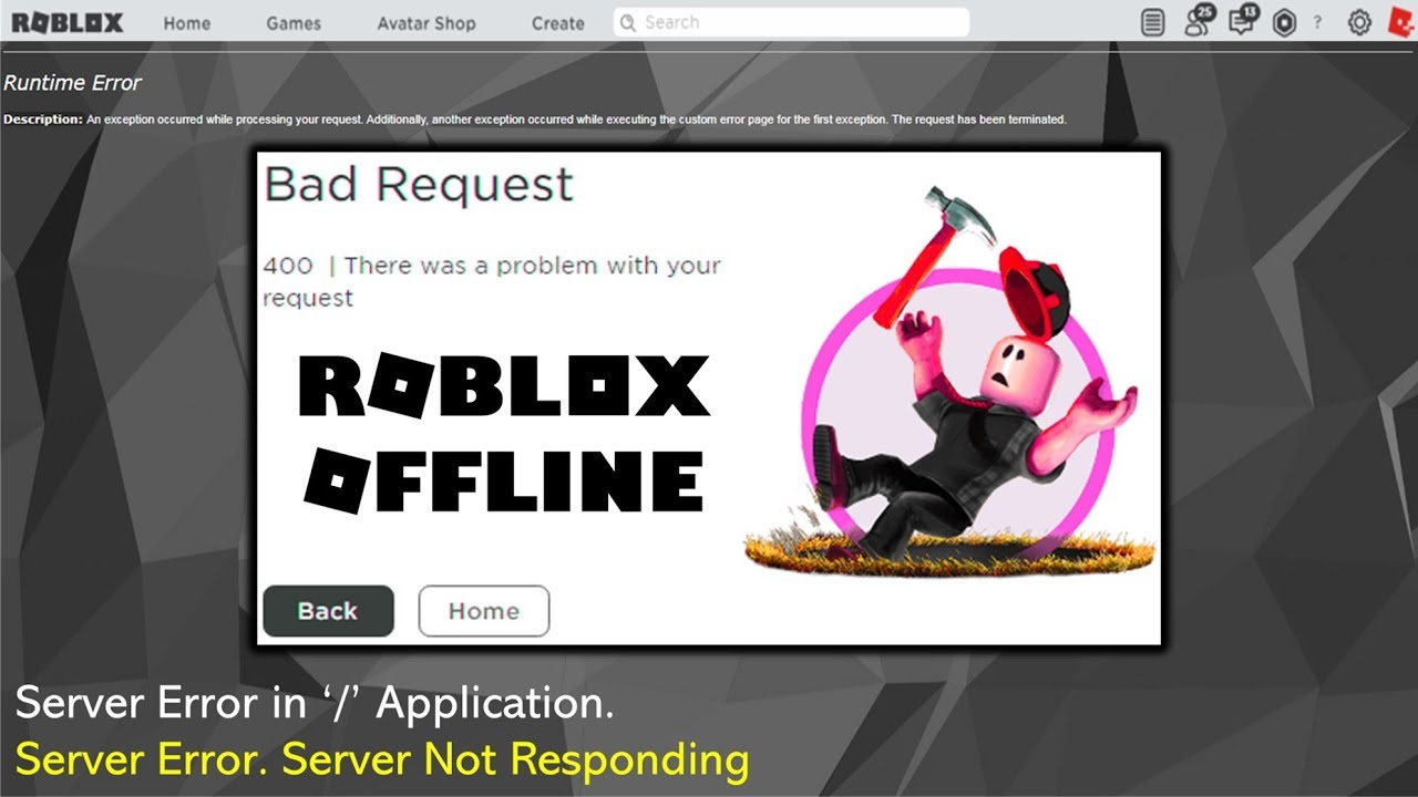 The Roblox Website Went Down And Everyone Panicked All About