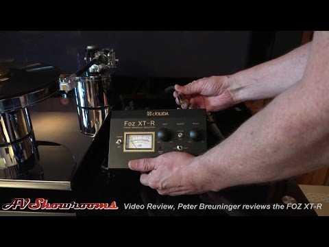 Jolida FOZ XT-R, demonstration and report, set turntable azimuth and remove crosstalk