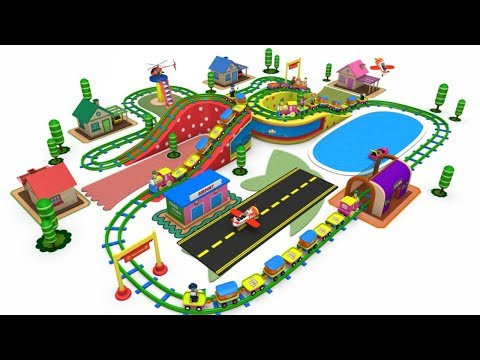 Thomas The Train - Trains for Kids - Toy Factory - Toy Trains - Cartoons For Kids - Train Cartoon