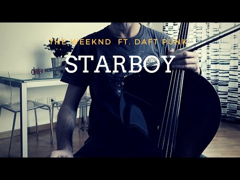 The Weeknd - Starboy ft. Daft Punk for cello and piano (COVER)