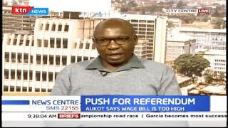 Push for referendum: Jubilee MPs divide over plebiscite