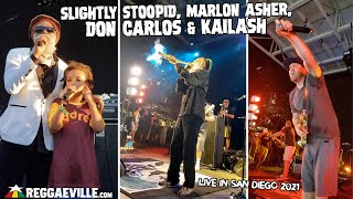 Slightly Stoopid, Marlon Asher, Don Carlos & Kailash - Live in San Diego, CA @Petco Park 9/11/2021