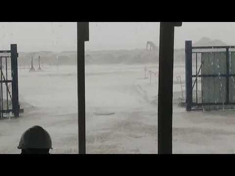 Heavy rainfall in Bahrain