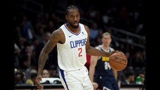 Kawhi Leonard Clippers Preseason Debut 1st Qtr. Highlights