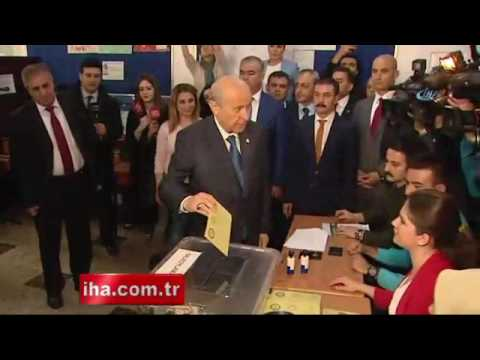 MHP lideri Bahçeli oyunu Ankarada kullandı