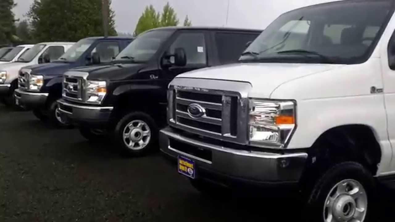 Quigley Van For Sale >> Newberg Ford 4X4 Van's Quigley Quad Van - YouTube