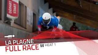 La Plagne | BMW IBSF World Cup 2019/2020 - Women's Skeleton Heat 1 | IBSF Official