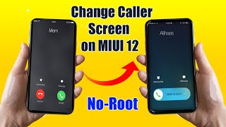 Secret Trick to Change Calling Screen and Dialer in MIUI 12 | MIUI 12 Trick to Change Caller Screen screenshot 1