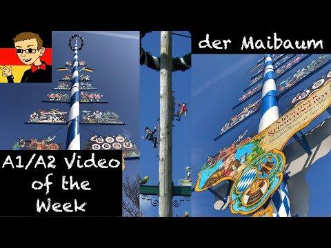 Der Maibaum - Learn German for Beginners A1/A2 #48 - Deutsch lernen