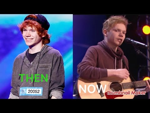 Chase Goehring THEN x factor And Now Americas Got Talent