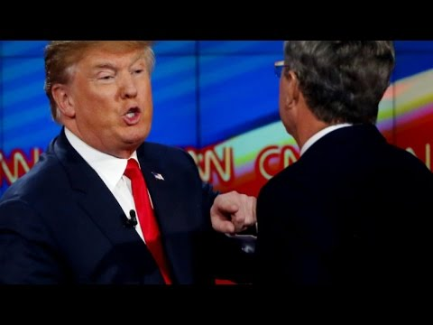 Donald Trump, Jeb Bush continue feud after Republican debate