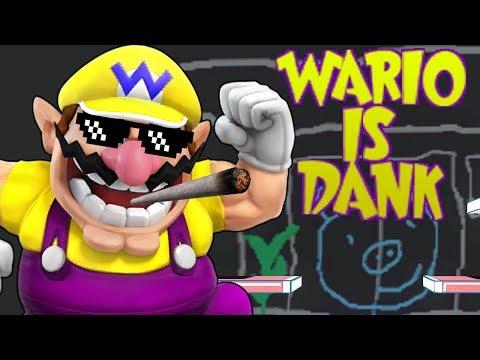 Wario is Dank, Better Nerf - Super Smash Bros. For Wii U Montage
