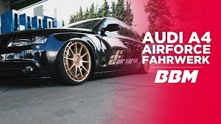 Audi A4 Pampers Bomber | Airforce Luftfahrwerk by BBM