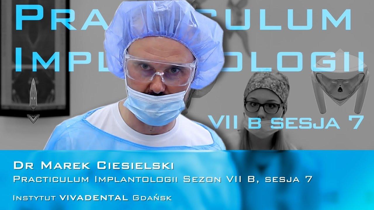 Dr Marek Ciesielski na Practiculum Implantologii