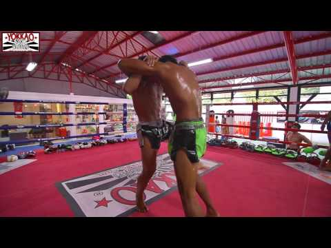 Muay Thai Bangkok: Manachai & Singdam Power Clinching Session