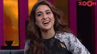 Sara Ali Khan steals the limelight at Karan's chat show 'Koffee with Karan' | Bollywood News