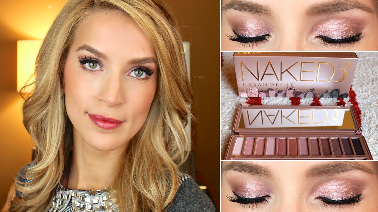 Naked 3 Urban Decay Makeup Tutorial