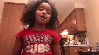 Kumari singing the Ace Family intro song