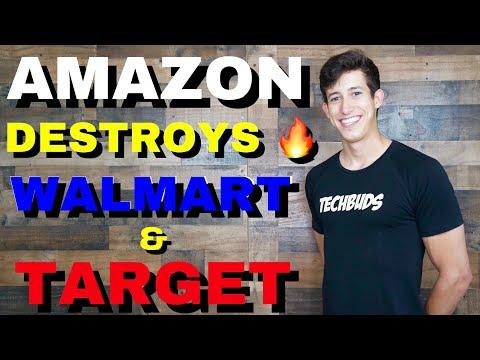 Amazon News Destroys Walmart & Target Stock Price (DIP BUY?)